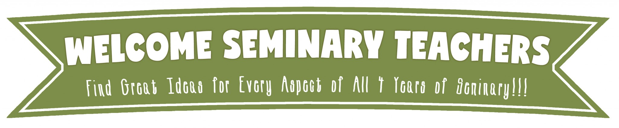 Welcome Seminary Teachers!